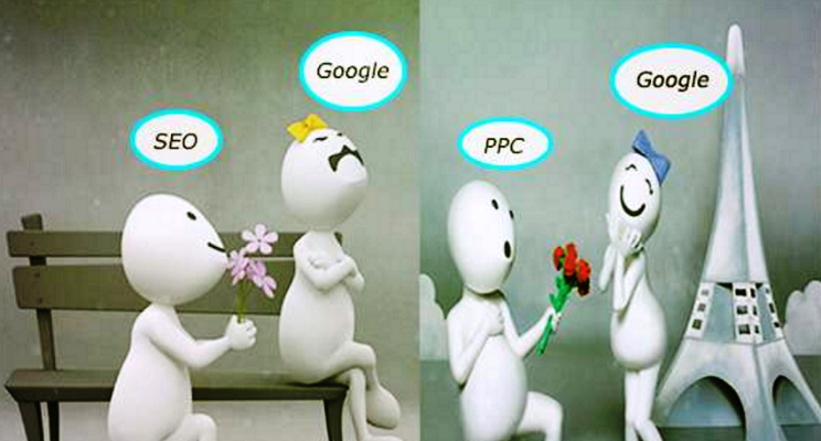 Google Love Story with SEO and PPC