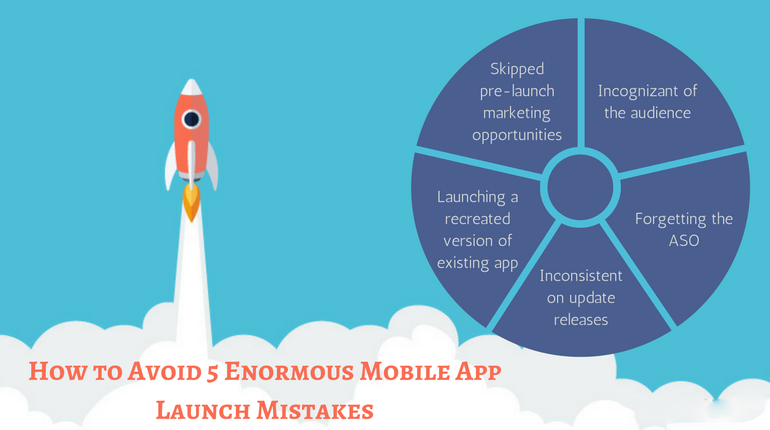 Avoid 5 Enormous Mobile App Launch Mistakes
