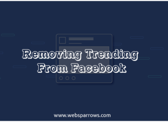Removing Trending From Facebook